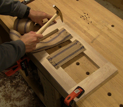 Close Grain Building A Queen Anne Foot Stool Part 6