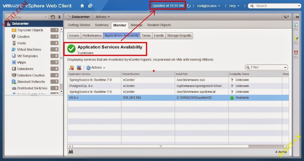 monitor service with vSphere app Ha (6)