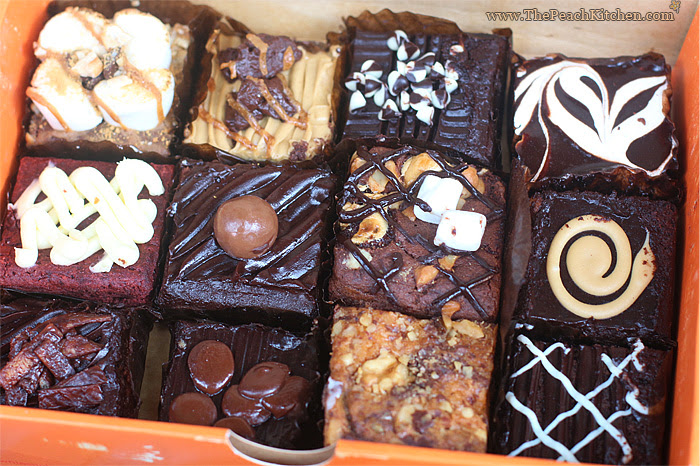 Brownies Unlimited New Flavors   www.thepeachkitchen.com