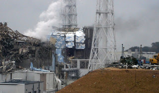reactores 3 y 4 fukushima daichi edificio metálico