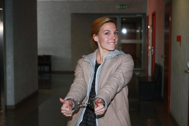 Оптимистка, подозреваемая в отмывании 17 миллионов литов (это 170 миллионов рублей
