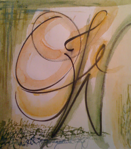 """""""Our Father Who Art"""" by artist Cindy Banes-Burkholder."""