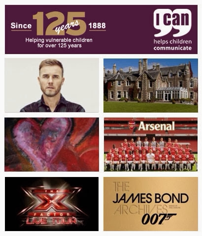 I can online auction Gary Barlow