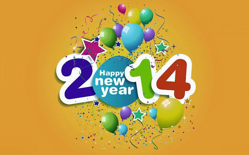 Creative Design For New Year 2014 Hình nền Facebook chúc mừng năm mới đón Tết 2014