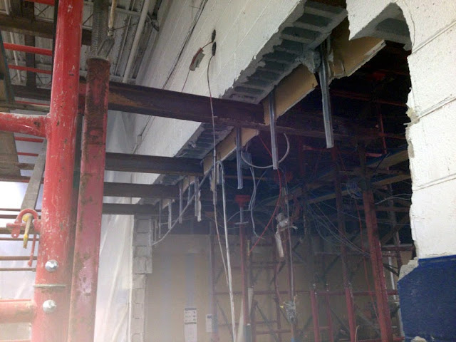 Needle Beam Shoring For Wall : Scafolding superior scaffold services part