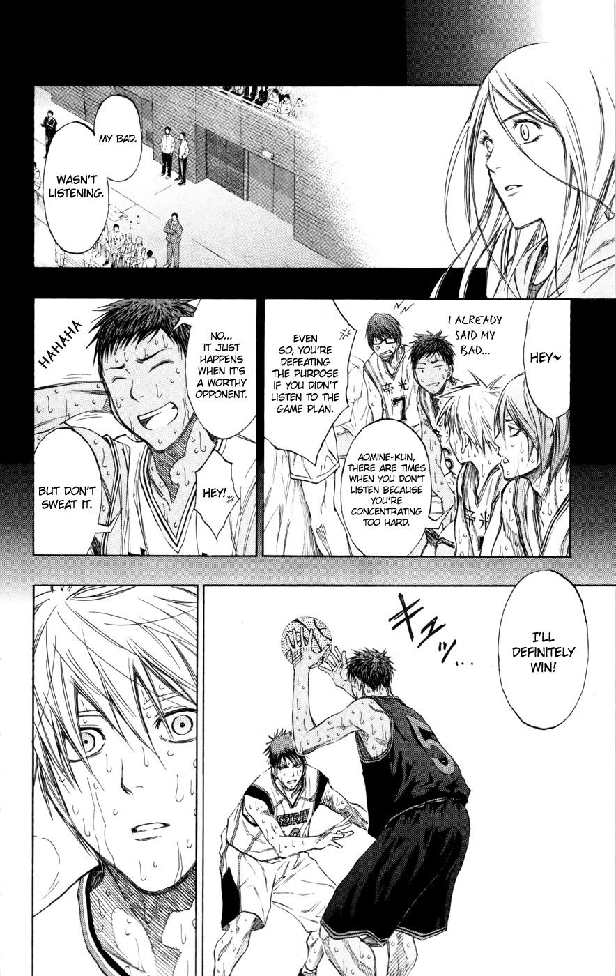 Kuroko no Basket Manga Chapter 130 - Image 17