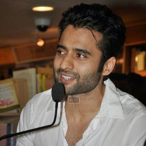 Jackky Bhagnani speaks during the launch of Dr Rashmi Shetty's book 'Age Erase', held at Crossword, on July 11, 2014.(Pic: Viral Bhayani)