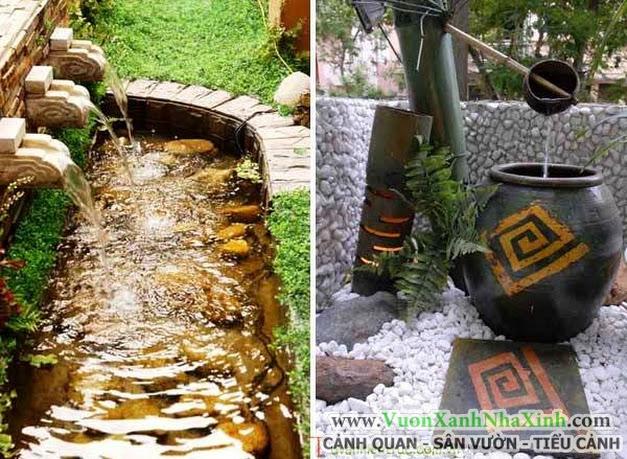 10 mẫu tiểu cảnh thác nước đẹp