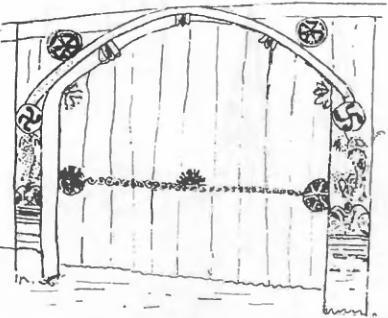 Ворота со свастикой