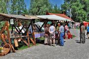 Petörke Portéka kézműves vásár a Petörke tó partján Bárdudvarnokon