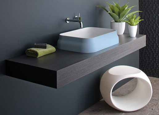 Bathroom faucets and wash basin design by omvivo company for Bathroom basins designs