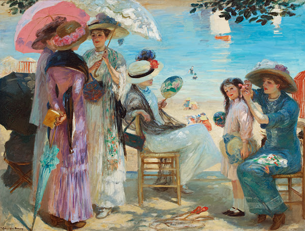 Rupert Bunny - Beautiful Afternoon in Royan