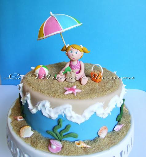 vi avevo promesso la torta estiva per i nostri corsi ed eccola qua  ^______^