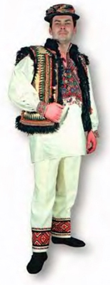Hutsul men wear