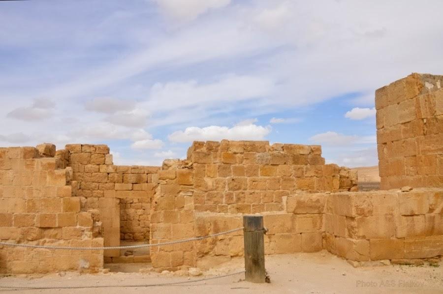 Пейзаж - память тысячилетий. Руины набатейского города Мамшит. Экскурсия гида Светланы Фиалковой.