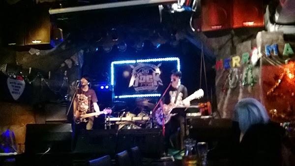 New Year's Eve at The Rock Pub, Bangkok