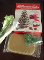 Waitrose Gingerbread tree kit