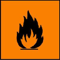 Highly flammable (sangat mudah terbakar)