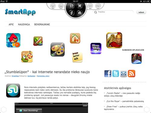 Mokama smartapp 3d web browser