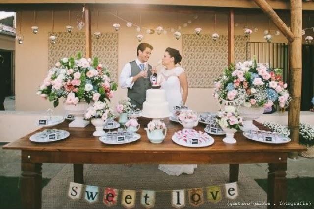 decoracao casamento mini wedding