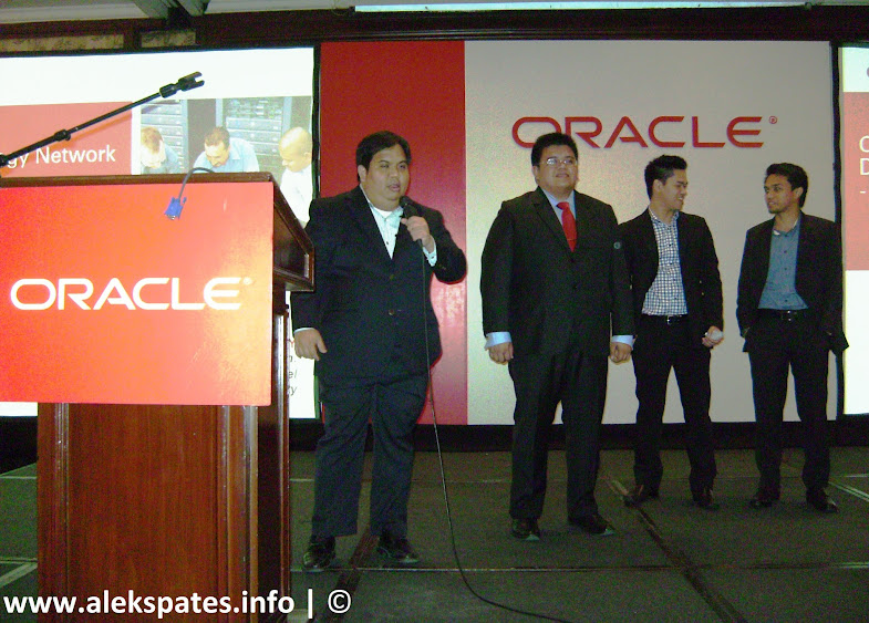 Oracle Corporation, Oracle (Philippine) Corporation, Oracle Technology Network Developer, Oracle Developer Day, Cloud Computing, Big Data, Cloud Service Model, Database as a Service, Database as a Service (DBaaS) by Jug Mensenares and Andre Dela Paz, Securing Data In Private Cloud, Cloud Security, Oracle NoSQL Database and Oracle Database (a perfect fit) by ER Hapal, Oracle Advanced Analytics – Oracle R Enterprise & Data Mining IT by Mike Blancas, ER Hapal, Andre Dela Paz, Jug Mensenares, Niel Pandya, Oracle, Oracle Day 2012, Oracle Day 2012 Manila, Oracle Day November 2012, Oracle Day event, Oracle Day Philippines, Grand Ballroom Intercontinental Manila, Intercontinental Manila, Intercontinental Manila Hotel