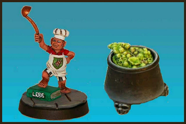 Chef Halfling Impact Miniatures Blood bowl