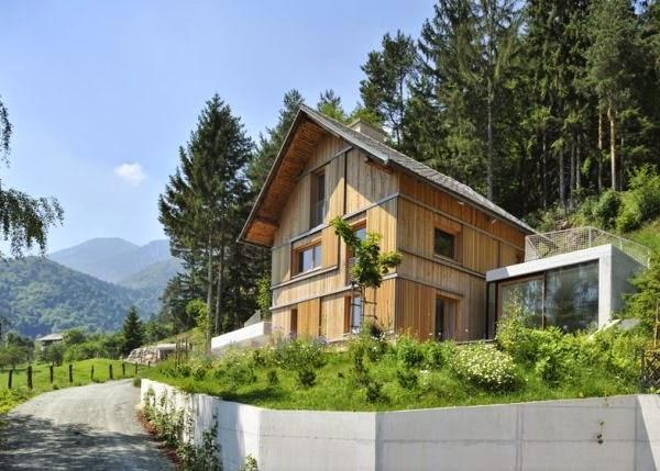 Tại sao nhà ở phải dựa vào lưng núi?