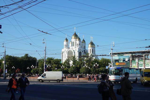 калининград, площать победы