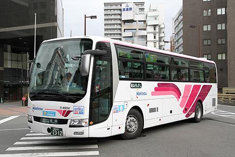西日本鉄道「ひのくに号」 4504