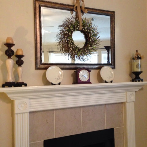 restyled mantel