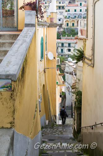 dik merdivenler, Positano
