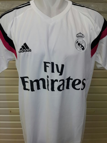 Jual Jersey Training Real Madrid Putih 2014-2015