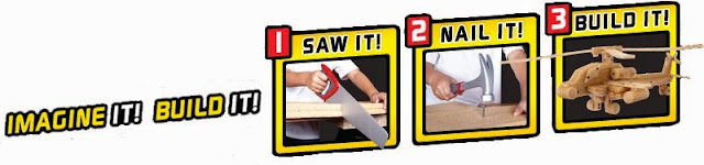 Bộ bản lề ốc vít nhựa Nail, Screw and Hinge rèn luyện cho đôi tay bé thêm khéo léo