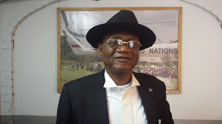 Fondateur et Directeur Général de l'Association pour le développement social et la sauvegarde de l'environnement (ADSSE), Freddy Mbakata. Radio Okapi/Ph. Kelly Nkute.