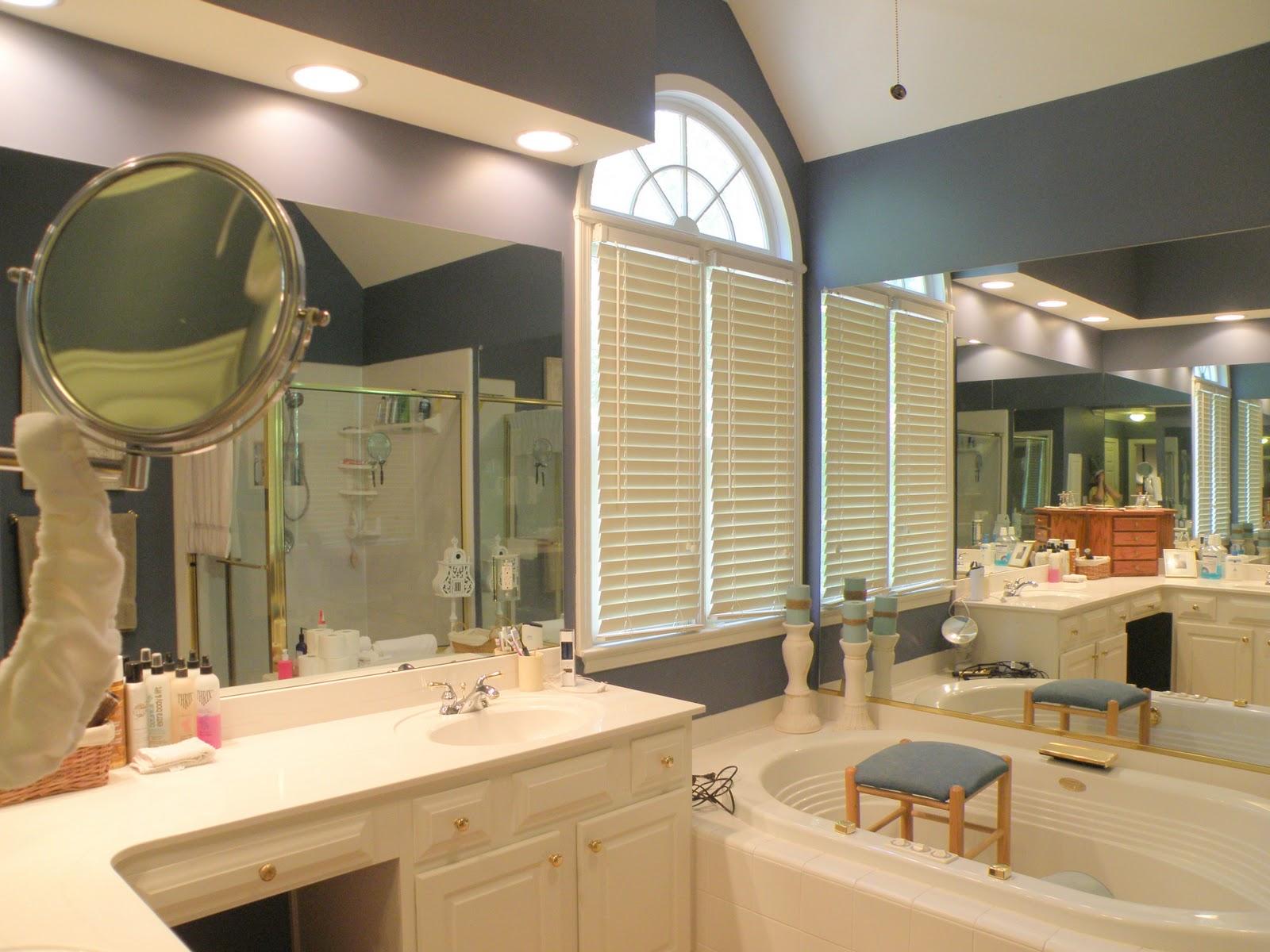 Shanty Insanity Vintage Modern Master Bath Remodel - Total bathroom remodel
