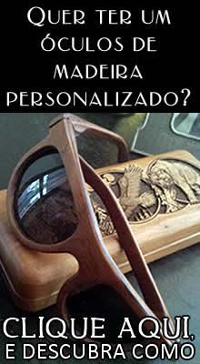 Óculos de Madeira Lohal