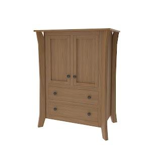 Kyoto Armoire Dresser