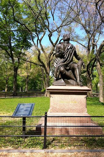 Robert Burns in Central Park