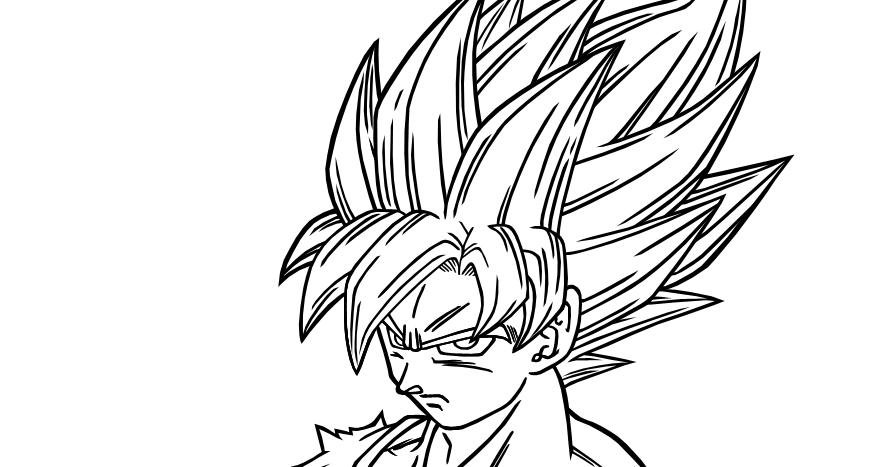 Goku Super Sayayin Dios Azul Para Colorear: Imagenesde99: Imagenes De Goku Ssj Para Dibujar