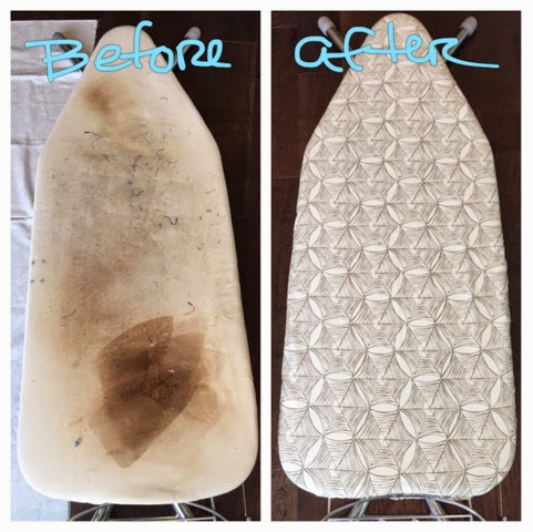 making an ironing board cover
