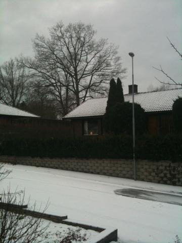 ett snöigt Östergötland