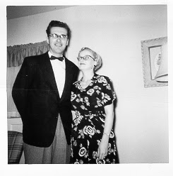 Mom and Dad (circa 1958/59) at home in Earlington. Renton, Washington.