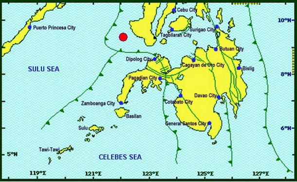 6.3 magnitude earthquake rocks Hinoba-an, Negros Occidental