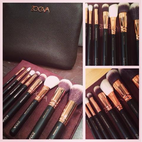 eren saygilier makeup zoeva rose gold luxury brush set. Black Bedroom Furniture Sets. Home Design Ideas