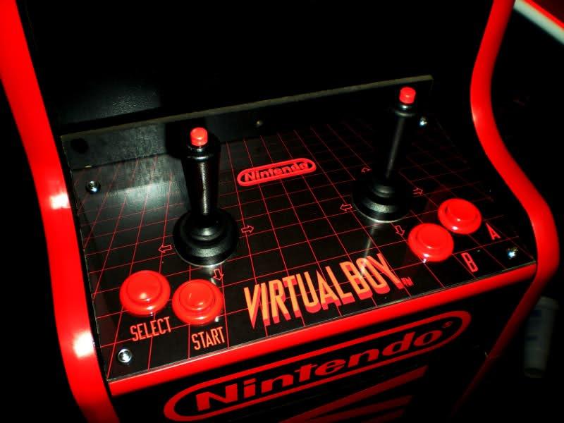 Arcade Virtual Boy Control Panel