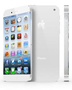 大型ディスプレイを搭載したiPhoneのイメージ