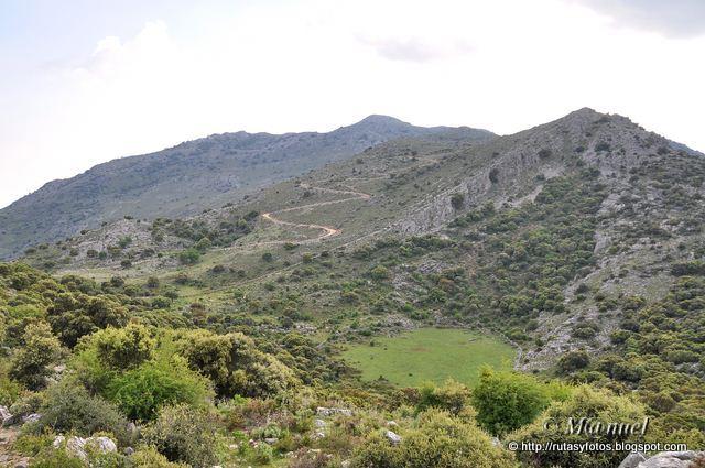 Circular Sierra Blanquilla y ascenso al Martin Gil