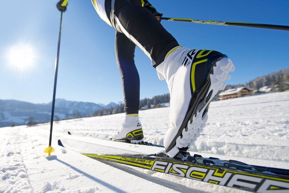 Cross-Country Skiing, Binding, Langlaufschuh