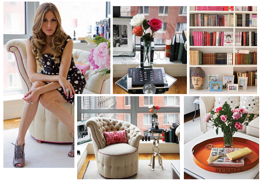 THE OLIVIA PALERMO LOOKBOOK: Olivia Palermo's Tribeca Apartment