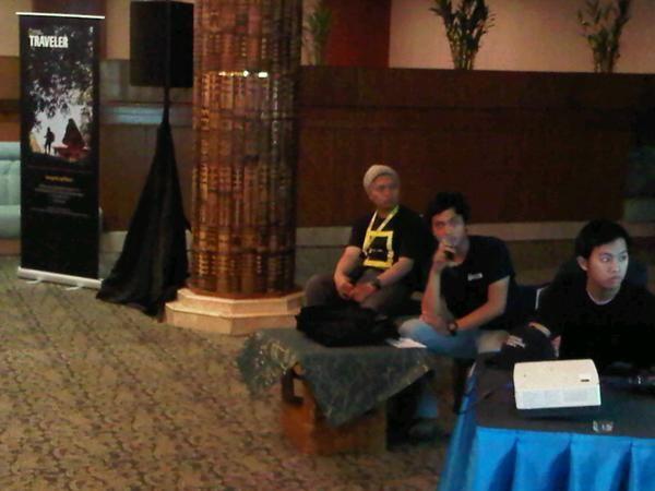 Acara dipandu oleh Purwo Subagiyo, digital strategist National Geographic Indonesia.